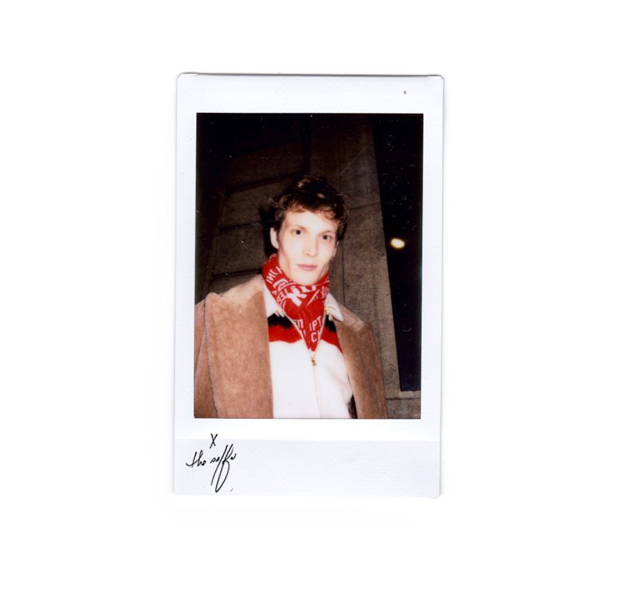 PFW Polaroids: Menswear Fall 2016 1